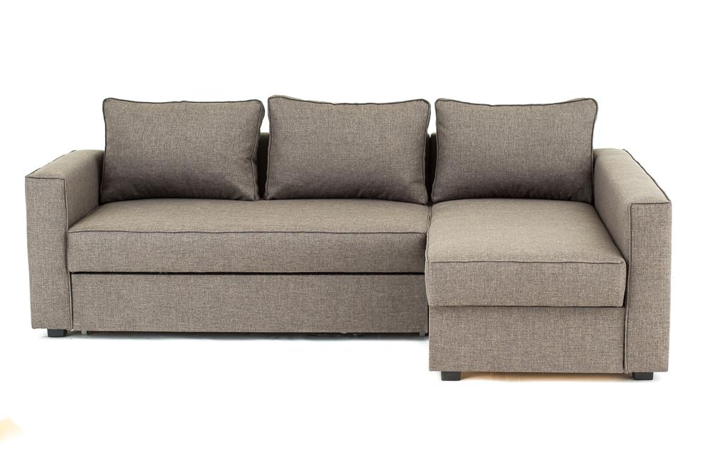 boston corner sofa bed with underneath storage in grey brown black or cream ebay. Black Bedroom Furniture Sets. Home Design Ideas